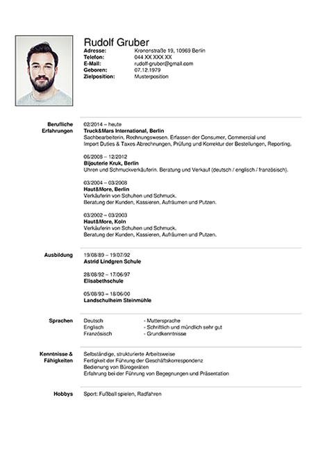 lebenslauf assistentin online - Lebenslauf Online