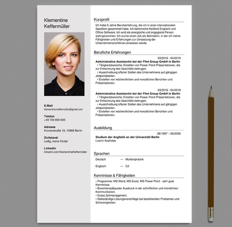 Lebenslauf Und Anschreiben Editor Creator Online Pdf
